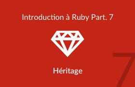 Fonctionnement de l'héritage en ruby