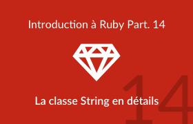 La classe String en détails