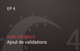 Ajout de validations